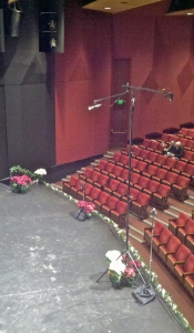 Decca Tree, Before the Show