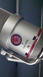 Neumann TLM 170 condenser microphone closeup view polar pattern selector