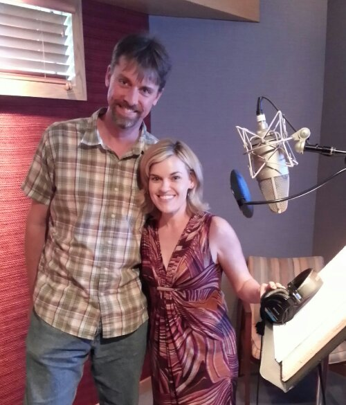In studio with Kari Wahlgren, recorded on a Neumann m149 microphone