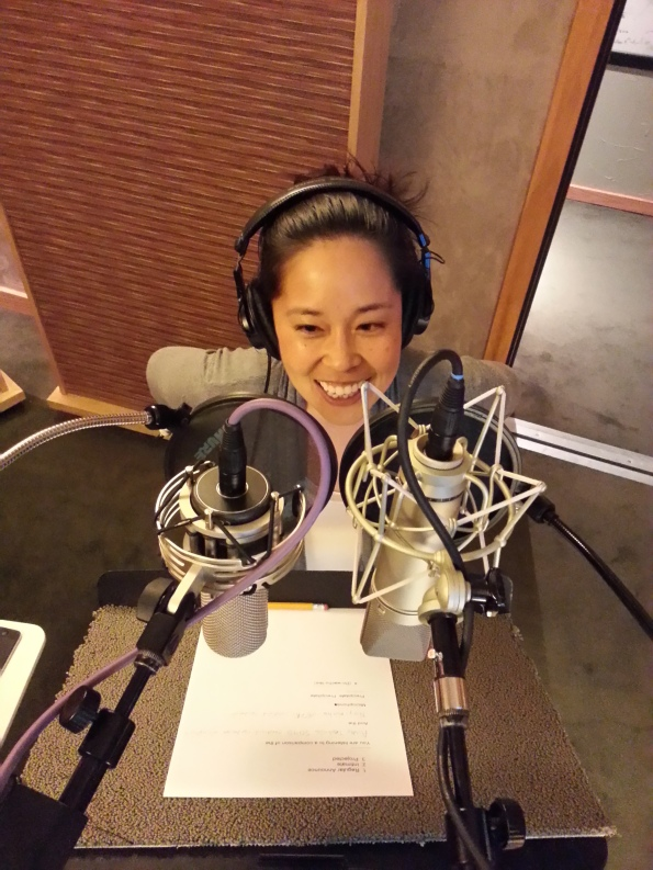 Stephanie Sheh compares Audio Technica AT5040 and Neumann u87 u87Ai microphones