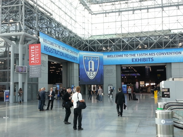 Report from the 135 AES Convention in New York 2013