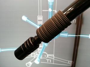 rubberized boom pole end