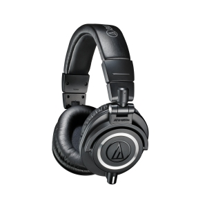 Review of Audio Technica ATH-M50x headphones with comparisons to Shure SRH 840 headphones