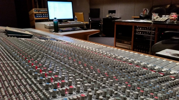 56 Input SSL Console in Studio E at Doppler Studios in Atlanta, Georgia